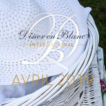 Le Diner en Blanc – calendrier d'avril 2019