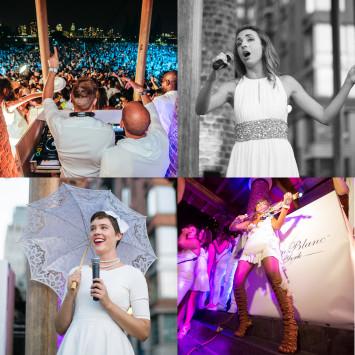 Performing Artists of New York's Dîner en Blanc 2014