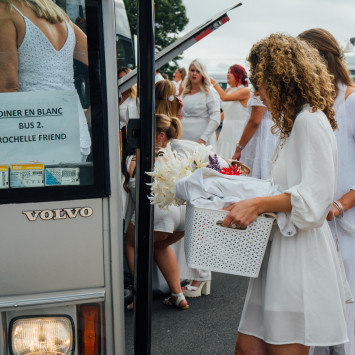 Le Diner en Blanc Tauranga Departure Point information 2020