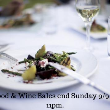 Food and Wine Sales