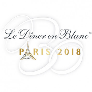Invitación para el 30o Aniversario de Le Dîner en Blanc de Paris – 3 de junio 2018