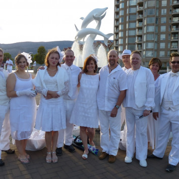 The Style of Diner en Blanc Okanagan