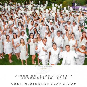 Le Dîner en Blanc – Austin [ NEW DATE ] November 16, 2019