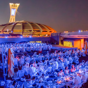 Dîner en Blanc is returning to Montreal on August 14!