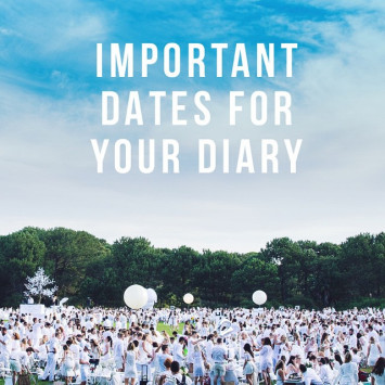 Important dates for your diary