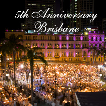 Le Dîner en Blanc – Brisbane to Celebrate 5 Years!