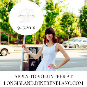 Diner en Blanc Long Island Call for Volunteers