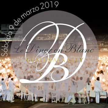 Le Diner en Blanc - Guatemala - Próximamente este 9 de marzo 2019
