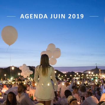 Le Dîner en Blanc – L'agenda de juin 2019