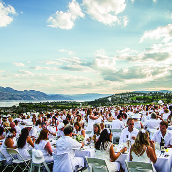 The City's Largest Dinner Party Returns to the Okanagan Valley