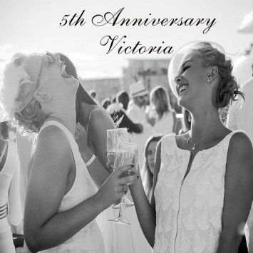 Le Dîner en Blanc – Victoria celebrates its 5th anniversary