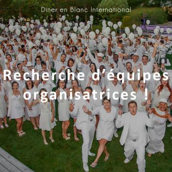 Dîner en Blanc International à la recherche d'organisateurs