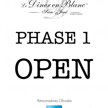 Phase 1 Open!