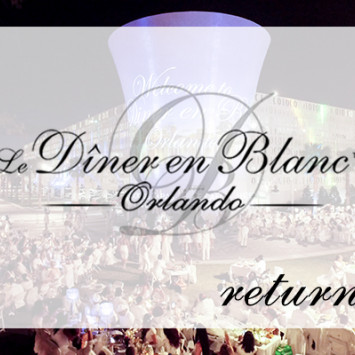 Diner en Blanc Orlando Returns