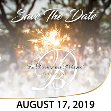 Le Diner en Blanc - Richmond Returns!
