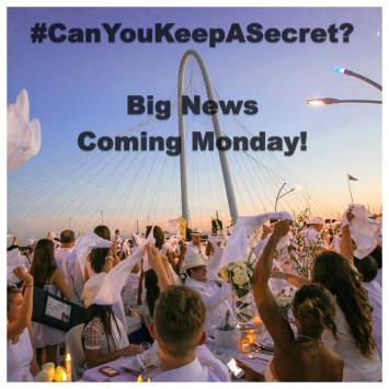 #CanYouKeepASecret?  Big Announcement on Monday...