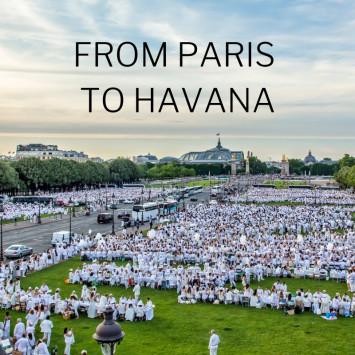 Le Dîner en Blanc - Havana Premieres April 6, 2019