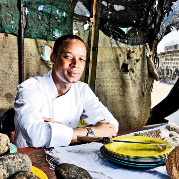 Michelin-star trained chef, Wandile Mabaso, partners with Le Diner en Blanc Johannesburg 2018