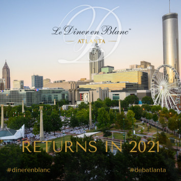 Le Diner en Blanc - Atlanta Returns in 2021!!