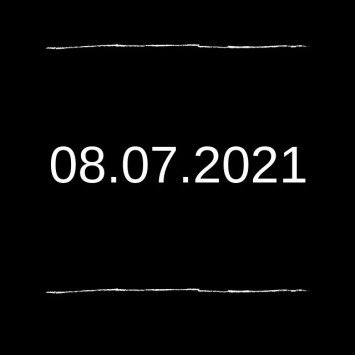 Save the Date: August 7, 2021