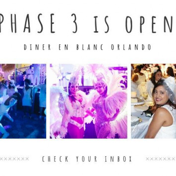 Phase 3 IS OPEN! Check your inbox!