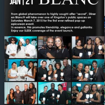 SLEEK Magazine Coverage of Diner en Blanc - Kingston Launch Event