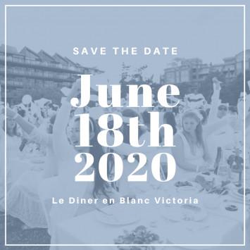 Diner en Blanc Victoria 2020 is Coming!