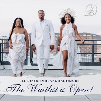 Le Dîner en Blanc - Baltimore Coming Saturday September 11, 2021