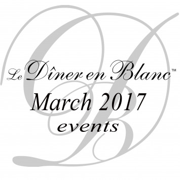 Only a few weeks away from the first Dîner en Blanc of the year!