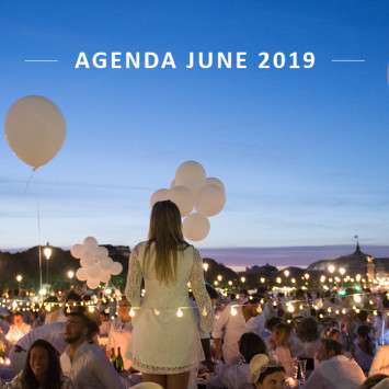 Le Dîner en Blanc – Agenda of June 2019