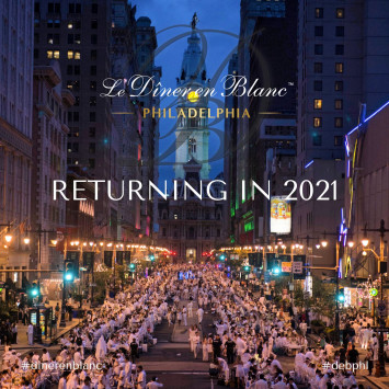 Le Dîner en Blanc Philadelphia - Returning in 2021