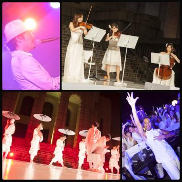 ディネ・アン・ブラン東京2015にご出演頂きましたアーティストご紹介