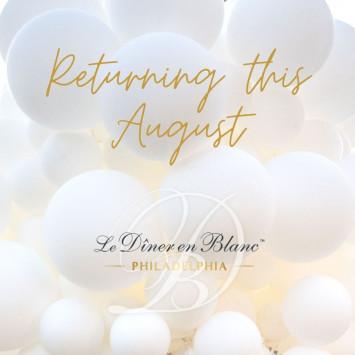 Le Dîner en Blanc Philadelphia Returns This August