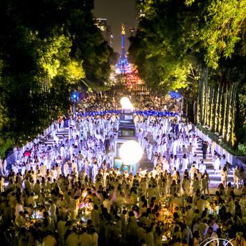 Extraordinaria 6ta edición del Dîner en Blanc Ciudad de México