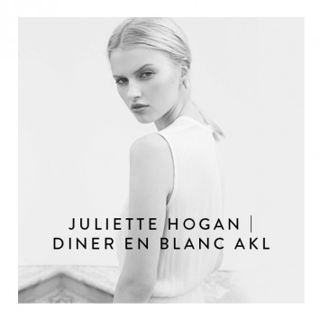 DÎNER EN BLANC AUCKLAND ANNOUNCES JULIETTE HOGAN AS FASHION PARTNER