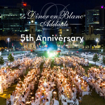 Le Dîner en Blanc - Adelaide celebrates its 5th anniversary!