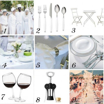 WHAT TO BRING TO DINER EN BLANC 2017
