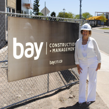 Presentation sponsors Dîner en blanc 2017 : Bay Construction + Management Inc.