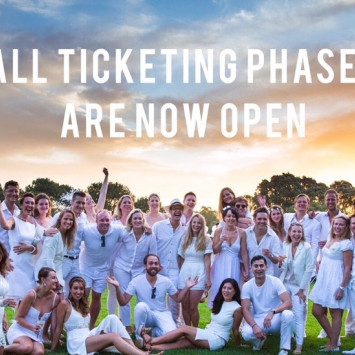 ALL TICKETING PHASES ARE NOW OPEN
