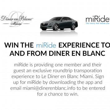 Win a free miRide Experience!
