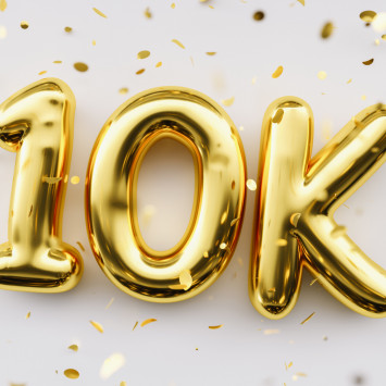 Thank You For 10,000 Followers!