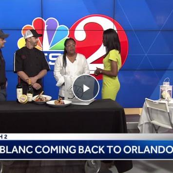 Diner en Blanc Orlando featured on Wesh News!