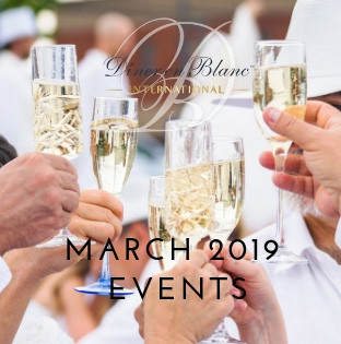 Le Dîner en Blanc in March 2019!
