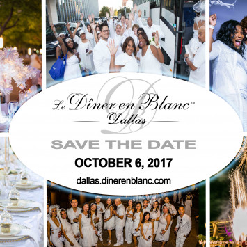Diner en Blanc Dallas 2017: Save the Date!
