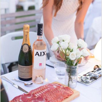 Flavors of Dîner en Blanc Charleston 2018