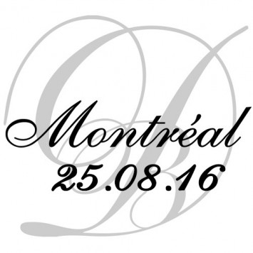 August 25th 2016, 8th edition of the Dîner en Blanc de Montréal