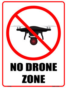 No Drone Photography By Guests Allowed