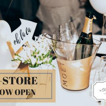 Online Store at Diner en Blanc Darwin