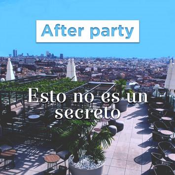 El afterparty ya no es un secreto!