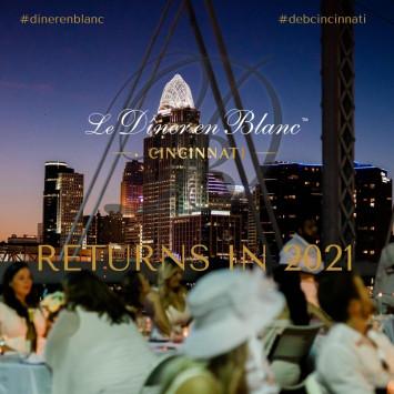 2020 Le Diner En Blanc Cincinnati Postponement